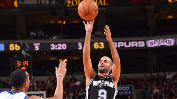 Duncan, Spurs sink Sixers for fifth straight win