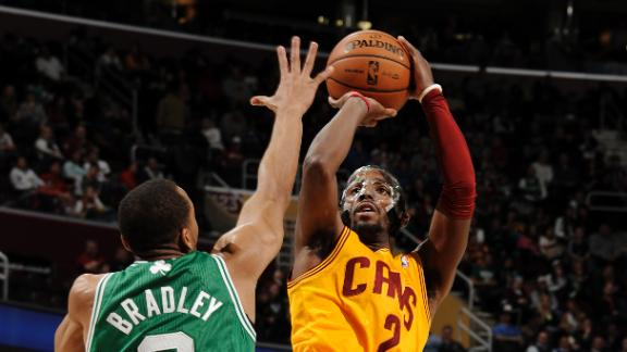Irving nets 40 as Cavs add to Celts' losing skid