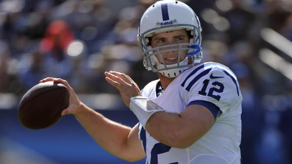 Video - Luck Replaces Brady On Pro Bowl Roster