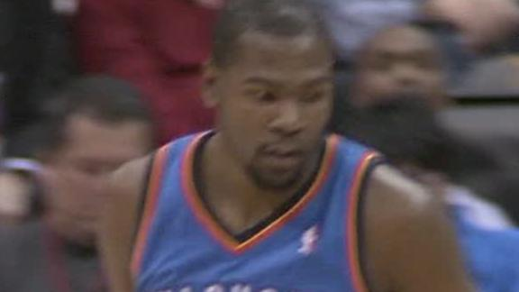 Video - Durant Leads Thunder Past Clippers, 109-97
