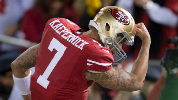 "Video - Colin Kaepernick Files To Trademark ""Kaepernicking"""
