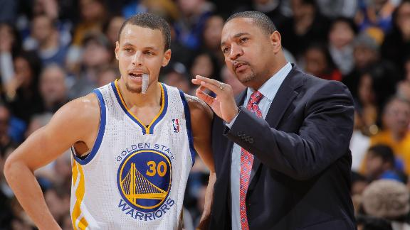 Warriors' Jackson frustrated over Curry's snub