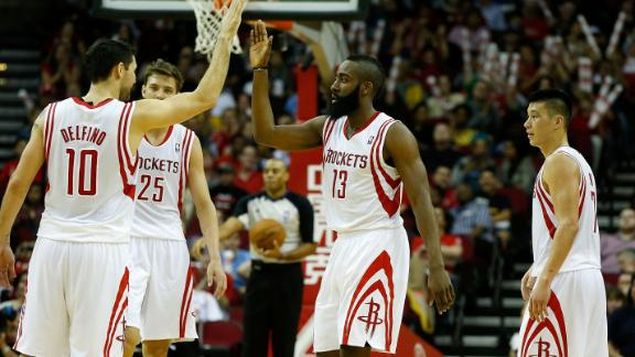 Video - Harden Leads Rockets Past Nets