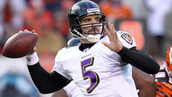 Super Bowl XLVII -- Flacco has arrived