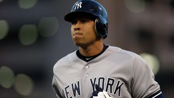 A-Rod to rehab hip in New York, Girardi says