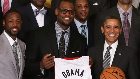 Video - Grading LeBron's White House Performance