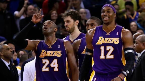 Howard says he, Kobe moving onto same page