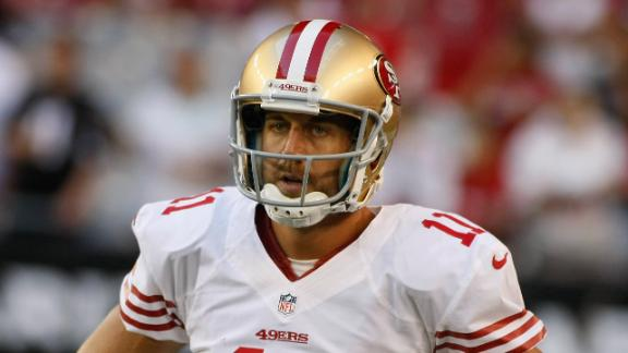 Report:  49ers will try to trade Alex Smith