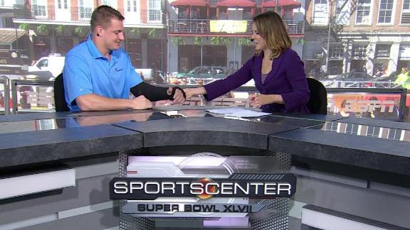 Video - Gronkowski Recovering From Injury