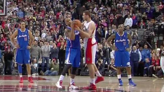 Video - Caron Butler Fakes Out Raptors With High Five