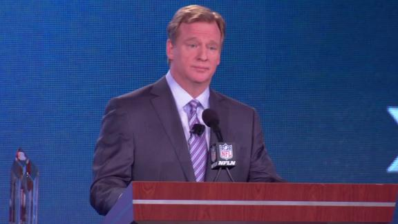 Goodell says agreement close on HGH testing