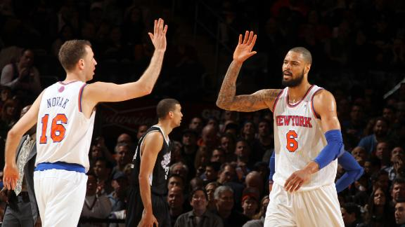 Stoudemire keys Knicks' trouncing of Kings