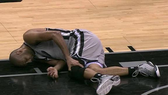 Duncan injured in Spurs' win against Wizards