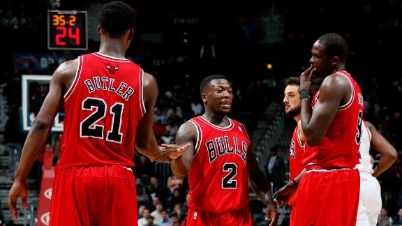 Video - Short-handed Bulls Cruise Past Hawks