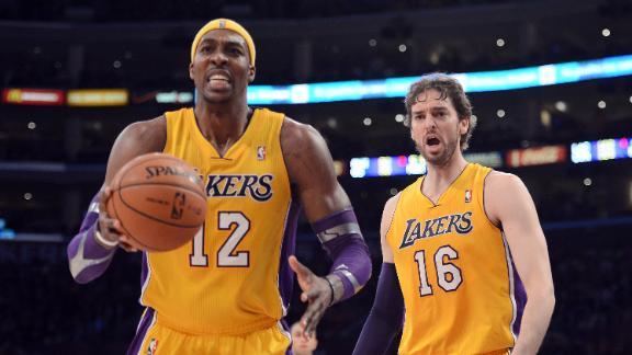 Lakers' Howard still out with sore shoulder