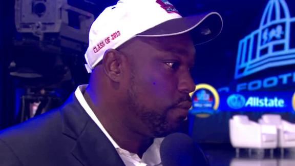 Video - Sapp Emotional About Hall Of Fame Selection