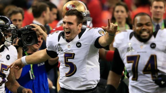 Video - Joe Flacco Wins Super Bowl MVP
