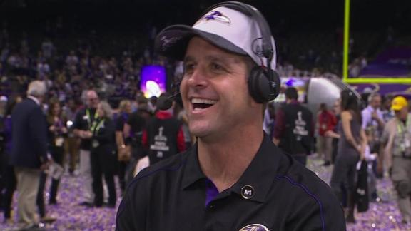 John Harbaugh: Tough to compete against Jim