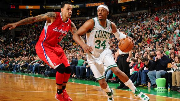 Video - Pierce Pushes Celtics Past Clippers
