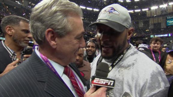 Video - Ray Lewis Goes Out A Winner