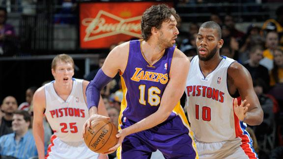 Video - Lakers Edge Pistons