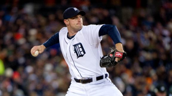 Scherzer, Tigers agree to 1-year, $6.725M deal