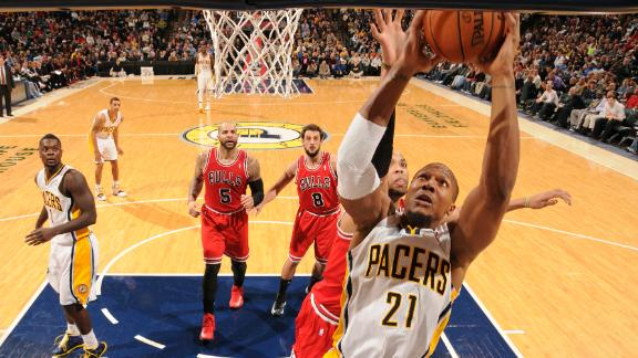 Pacers top Bulls to take share of Central lead