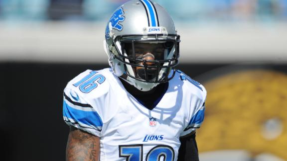 Titus Young recently boasted he's better than Megatron