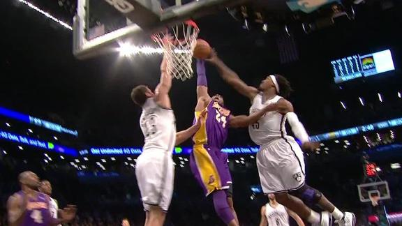 Video - Kobe Posterizes The Nets