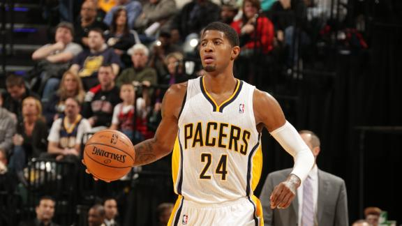 George goes for 29 as Pacers pad home streak