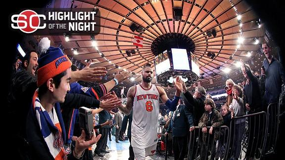 Video - Knicks Sweep Five-Game Homestand
