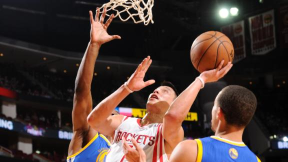Video - Lin, Rockets Crush Warriors