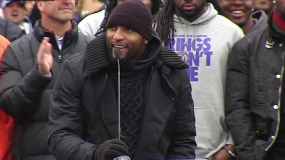 Video - Ravens Celebrate In Baltimore