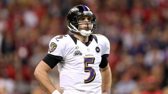 Video - Flacco Seeking Top QB Pay