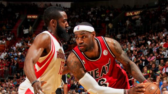 Video - LeBron, Wade Spark Heat