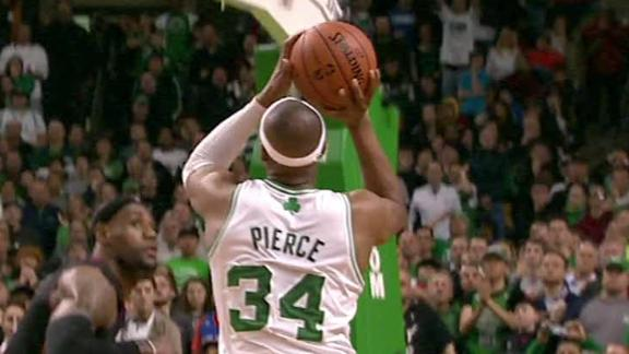Celtics' Ainge: 'Mostly likely' keeping KG, Pierce