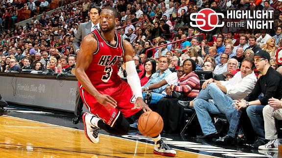 Video - Wade, LeBron Spark Heat