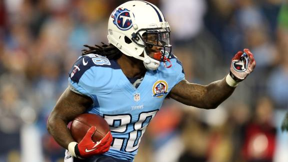 Titans keep RB Johnson with current deal