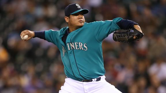 Video - Contract Hold Up For Felix Hernandez