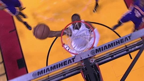 Video - Wade Reverse Dunk Past Howard
