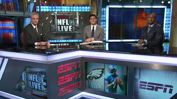 Video - NFL Live OT: Vick Stays In Philly