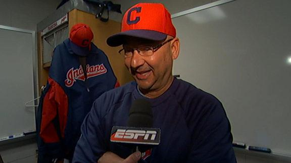 Video - Francona Talks Indians
