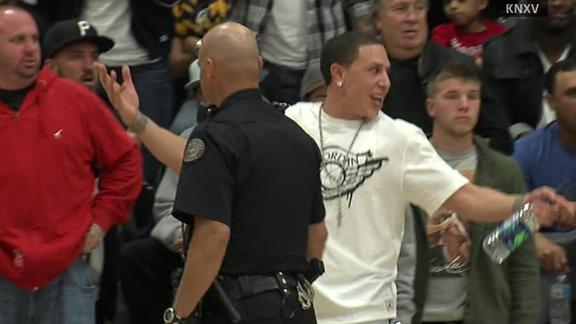 Video - Former NBA Player Escorted By Police From Son's Game