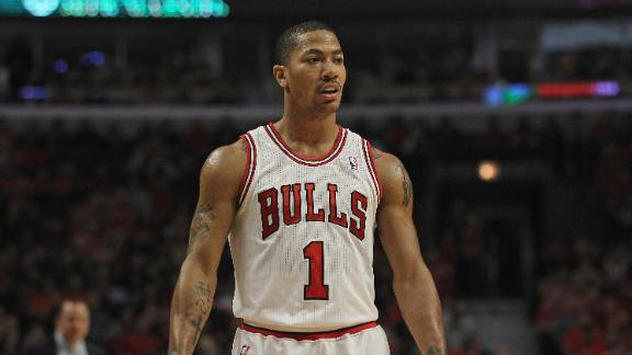 Bulls' Rose says he's 'far away' from return