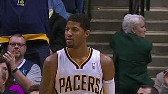 Video - George, Pacers Coast Past Bobcats