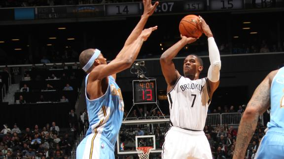 Video - Joe Johnson Guides Short-Handed Nets Past Nuggets