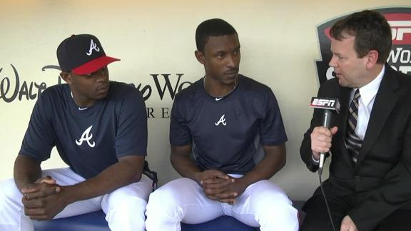 Video - Upton Brothers Unite With Braves