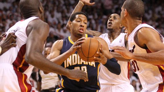 Ill Granger won't make Pacers debut vs. Bobcats