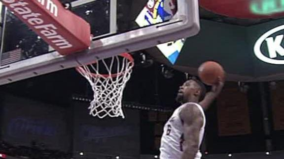 Video - DeAndre Jordan Jumps Out Of The Gym