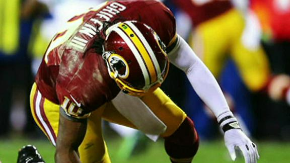 Andrews: RG III 'ahead of schedule' in recovery